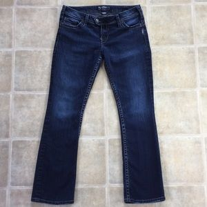 """Silver Jeans - Tuesday 16 1/2"""" - W30/L31"""